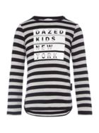 DKNY Girls Motif T-Shirt