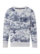 Timberland Boys Printed Fleece Sweatshirt