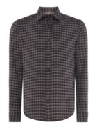 Men's Hugo Boss Lance Brushed Regular Fit Check