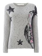 Oui Star girl jumper