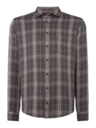 Men's Hugo Boss Epop textured check shirt