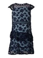 Bardot Junior Girls Dobby Floral Lace Dress