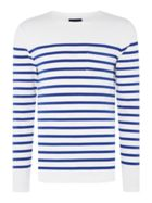 Men's Scotch & Soda Engineered Breton Stripe Sweatshirt