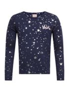 Joules Girls Star Print Long Sleeve T-Shirt