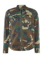 Men's Replay Camouflage Printed Stretch Shirt