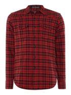 Men's Replay Long Sleeve Check Shirt