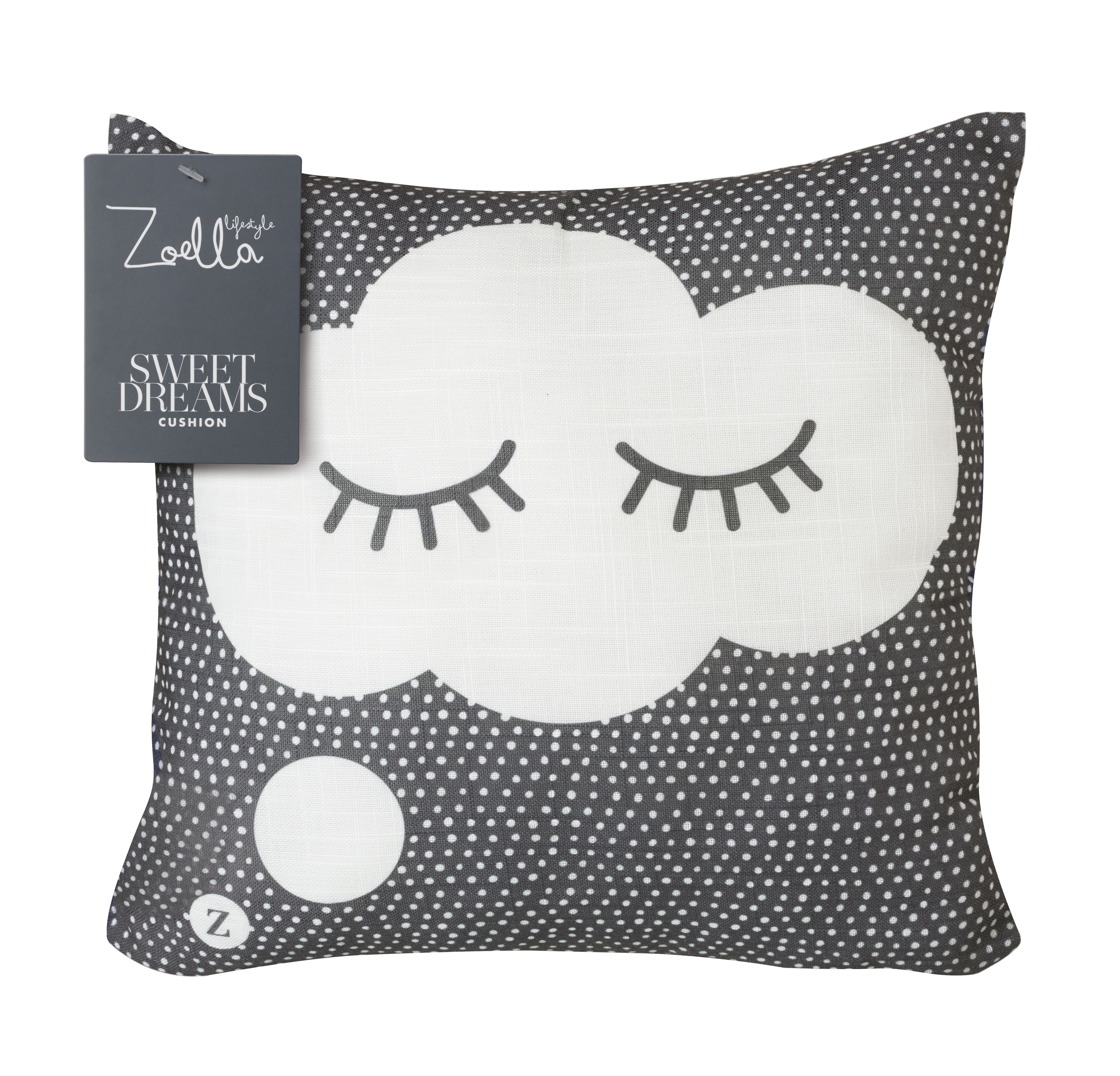 Christmas ornament black and white 187 home design 2017 - Zoella Sweet Dreams Cushion