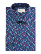 Men's Ted Baker Multi Coloured Diamond Print Shirt