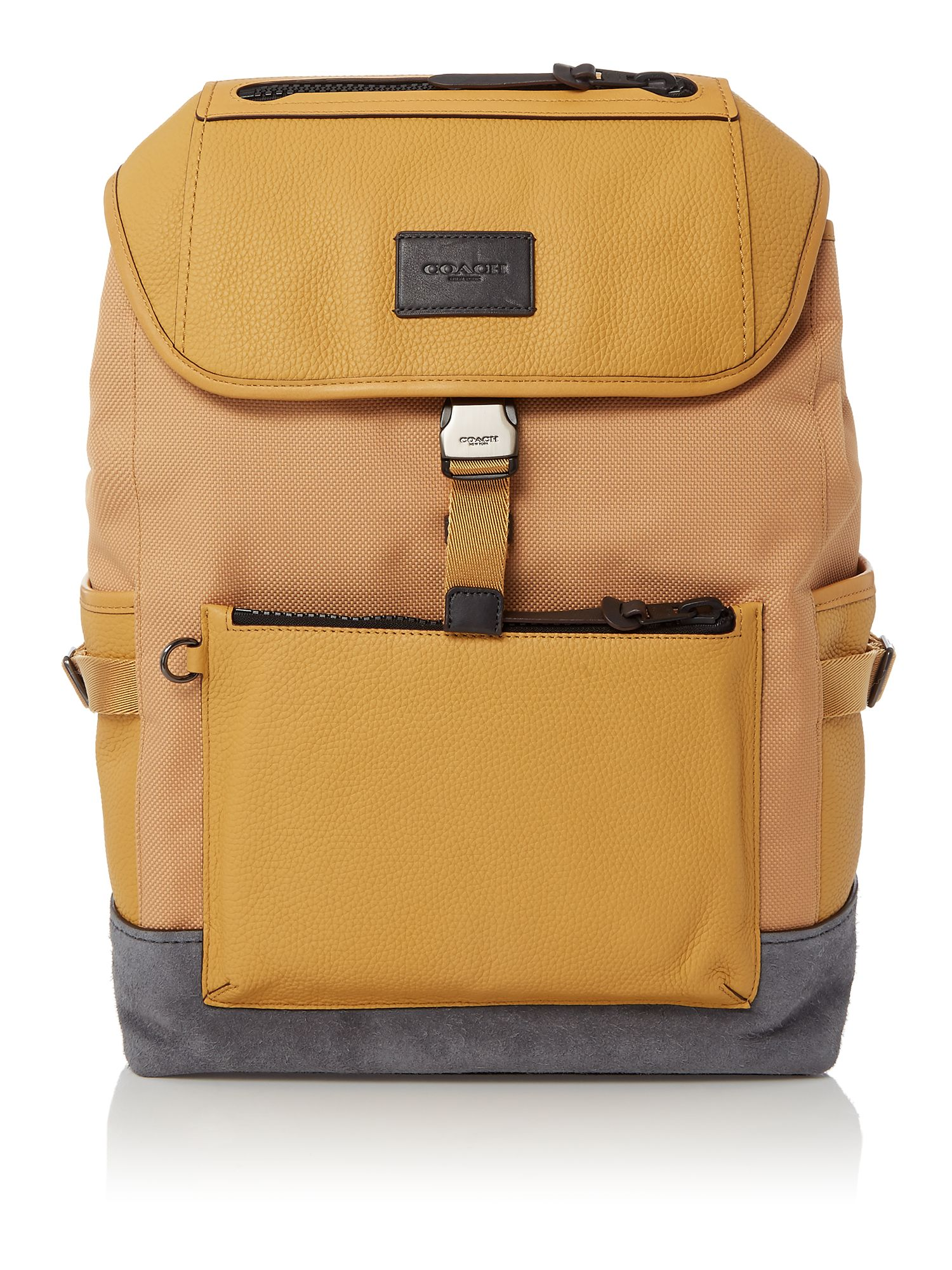 Coach Manhattan Backpack, Yellow