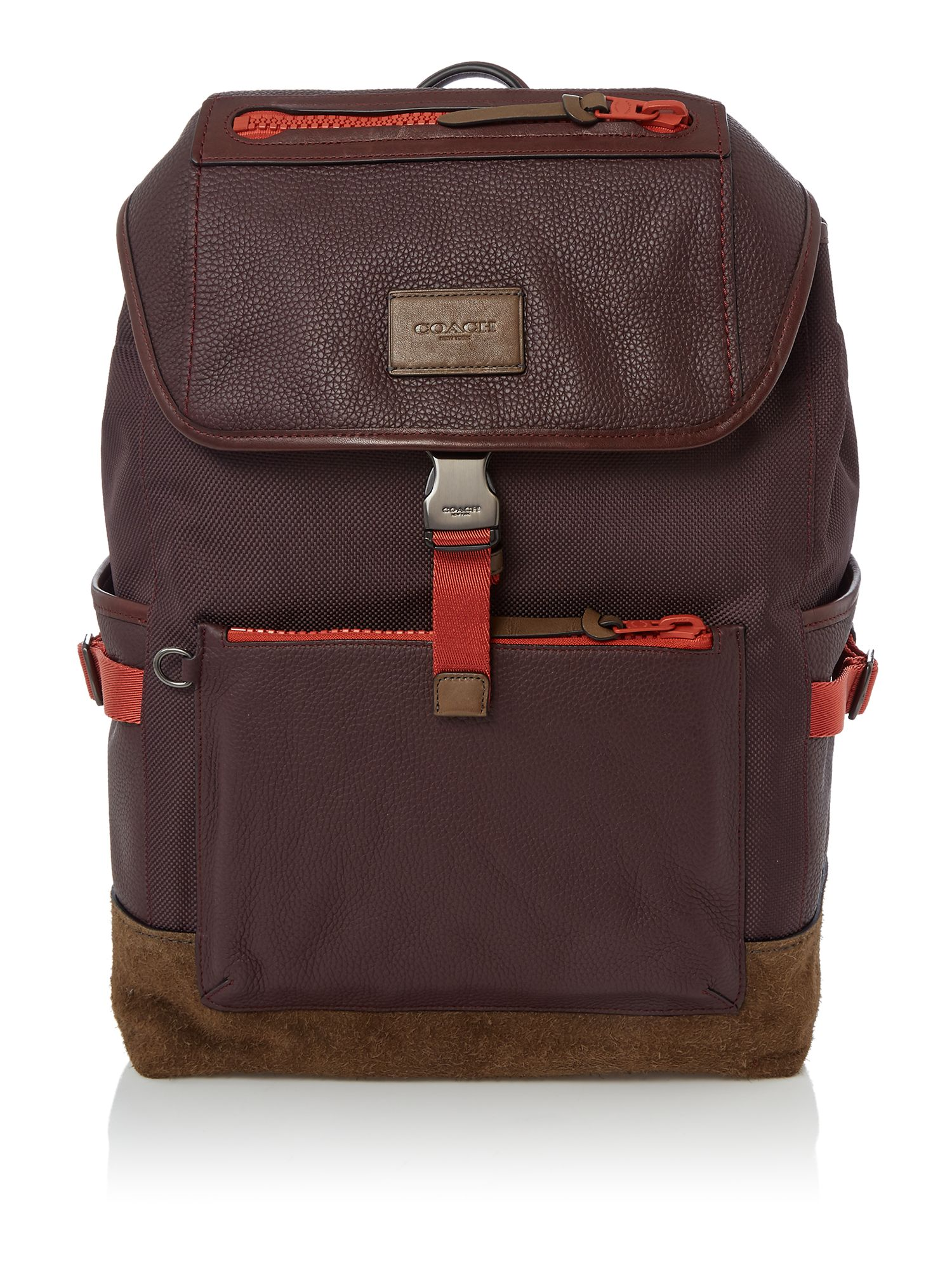 Coach Manhattan Backpack, Dark Red
