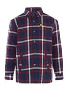 Lyle and Scott Boys Brushed Long Sleeve Shirt