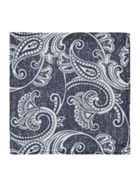 Label Lab Franco Paisley Design Pocket Square