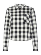 Lee Relaxed Fit Long Sleeved Gingham Shirt