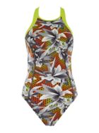 Speedo Hydra fizz high neck swimsuit