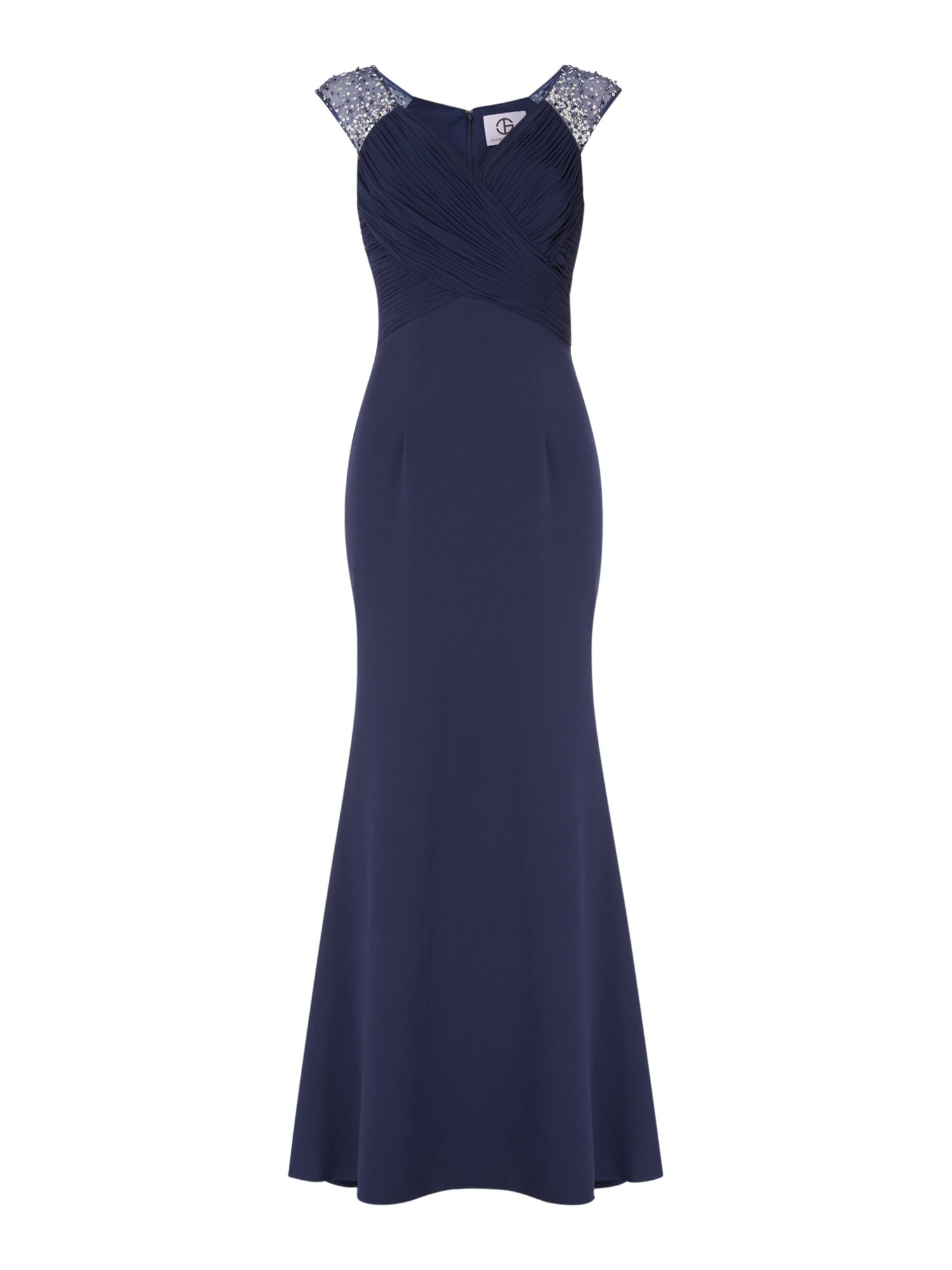 High neck maxi dresses uk only