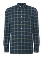 Long Sleeve Slim Fit Sport Check Shirt