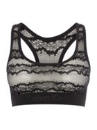 Ck Black Electric Bralette Unlined