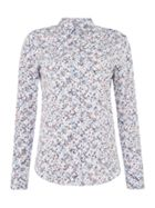 GANT Long Sleeve Shirt In Meadow Flower Print