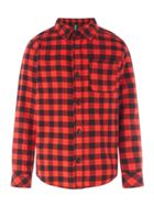 Benetton Boys Long Sleeved Check Shirt