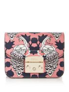 Metropolis Mini Print Cross Body Bag