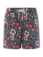 Men's Howick DARK FLORAL SWIM SHORTS