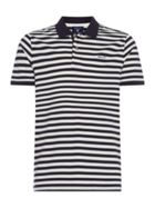 Men's GANT Short Sleeve Bar Stripe Polo Shirt