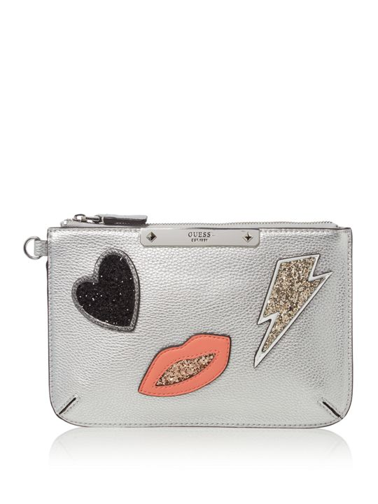 GUESS Britta mini clutch bag