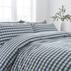 Linea Aston Gingham Duvet Set