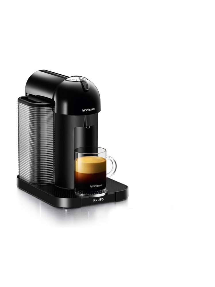 Krups Nespresso Vertuo Machine, Piano Black - House of Fraser