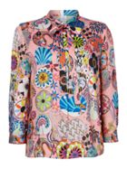 PS By Paul Smith Tie neck enso print