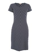 Barbour Exclusive Whitmore Striped Cap Sleeve Dress