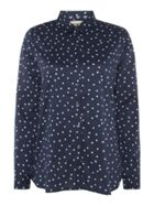 Barbour Faeroe Long Sleeve Shirt With Dot Pattern