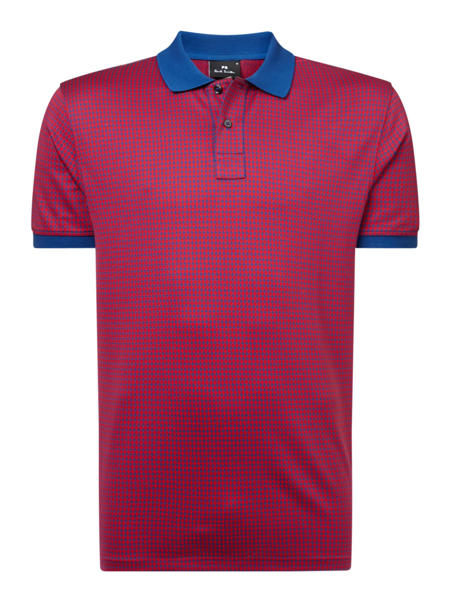 Dog Tooth Polo Shirt by Ps By Paul Smith