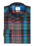 Men's PS By Paul Smith Brushed Check Shirt