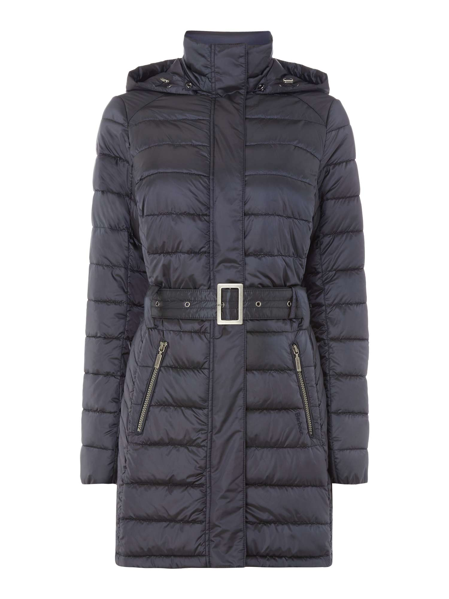 Barbour Braemar Long Quilted Coat With Hood ... 21b88756a3