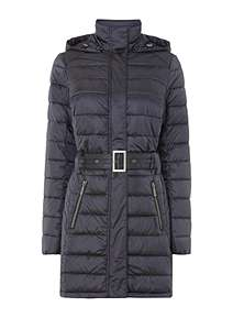 Barbour Braemar Long Quilted Coat With Hood 4b9297a999