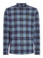 Men's Lyle and Scott Long Sleeve Check Flannel