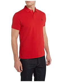 Only & Sons ONSTOM MUSCLE FIT COLOURBLOCK - Polo - dark saphire AJaJ2