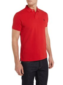 Only & Sons ONSTOM MUSCLE FIT COLOURBLOCK - Polo - dark saphire