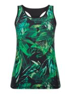 Biba Dark Jungle Gym Vest Top