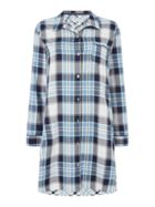 Maison De Nimes Mix and match check nightshirt