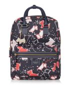 Radley Speckle dog large ziptop backpack