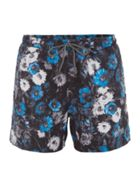 Men's Hugo Boss Quick Dry Piranha Floral Swimshorts