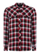 Men's Diesel Long Sleeve Western Check Shirt