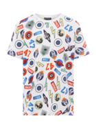 Howick Junior Boys Badge Print T-Shirt