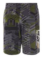 Men's EA7 Visibility Graphic Pants