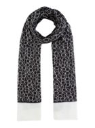 Calvin Klein All over CK print scarf
