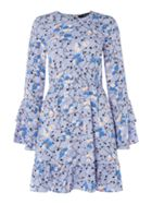 Vero Moda Isolde Long Sleeve Floral Dress With