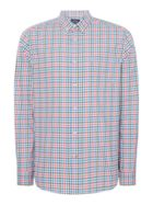 Men's Howick Long Island Multi Gingham Long Sleeve