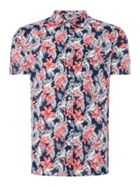 Men's Howick Garden Flower Short Sleeve Shirt